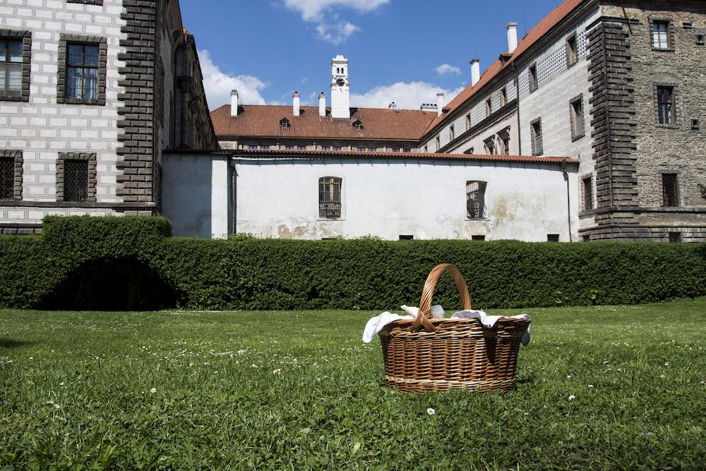 Piknik v zámecké zahradě Nelahozeves
