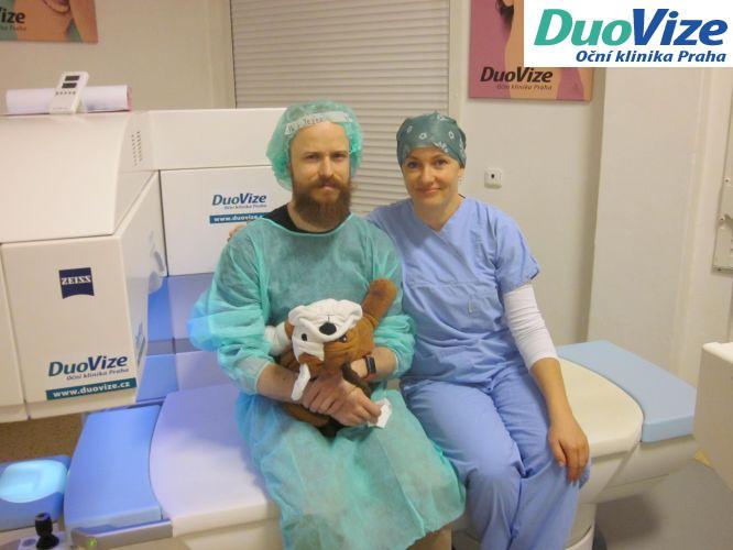 Laserová operace očí Duovize