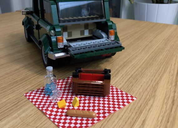 Lego mini cooper